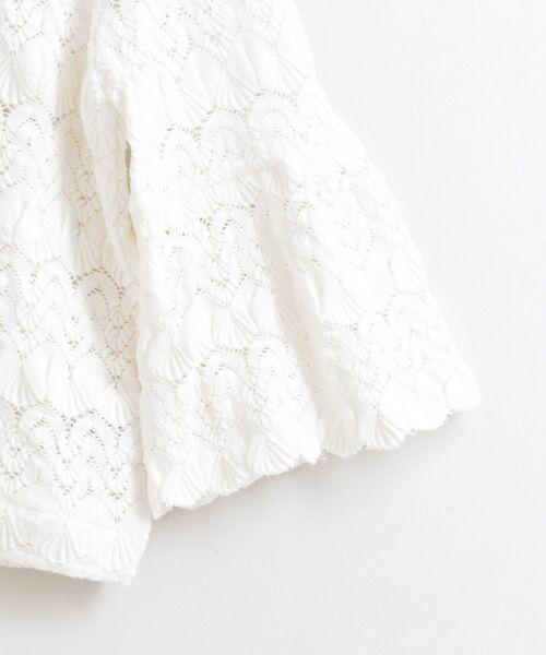 le.coeur blanc / ルクールブラン シャツ・ブラウス | バルファスレースVネックブラウス | 詳細3