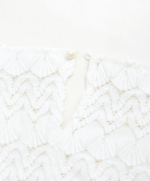 le.coeur blanc / ルクールブラン シャツ・ブラウス | バルファスレースVネックブラウス | 詳細4
