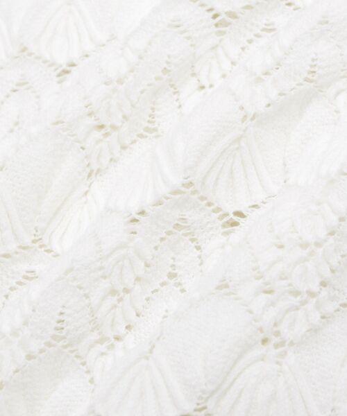 le.coeur blanc / ルクールブラン シャツ・ブラウス | バルファスレースVネックブラウス | 詳細5