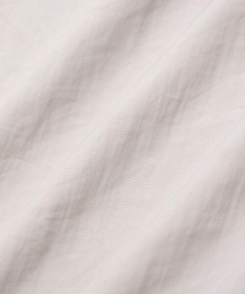 le.coeur blanc / ルクールブラン シャツ・ブラウス | パウダーサテン2wayギャザーブラウス | 詳細5