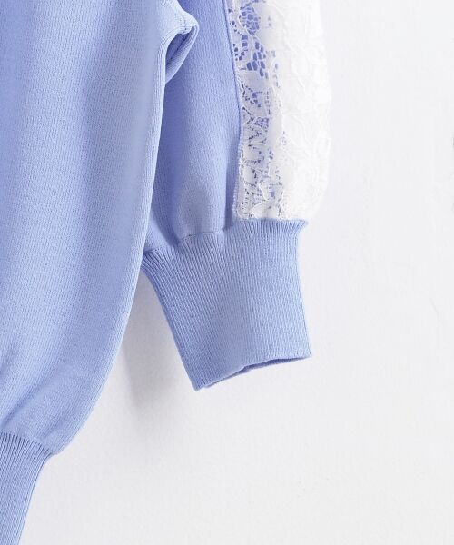 le.coeur blanc / ルクールブラン ニット・セーター | スリーブレースニットプルオーバー | 詳細3