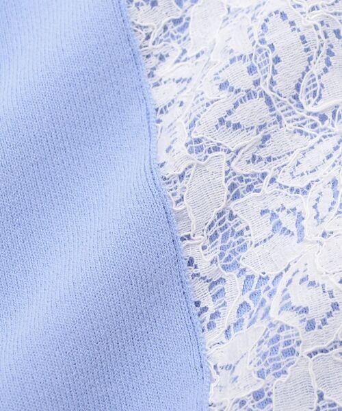 le.coeur blanc / ルクールブラン ニット・セーター | スリーブレースニットプルオーバー | 詳細4