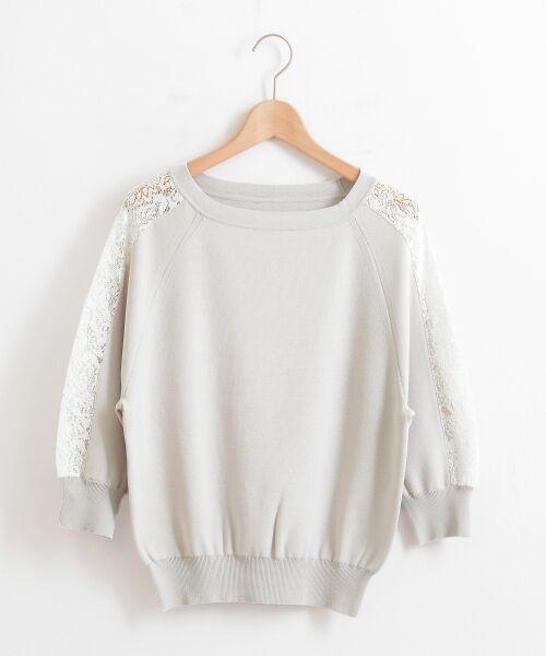 le.coeur blanc / ルクールブラン ニット・セーター | スリーブレースニットプルオーバー | 詳細5