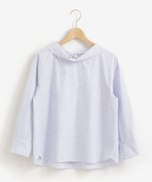 le.coeur blanc / ルクールブラン シャツ・ブラウス   ロールカラーブラウス   詳細16