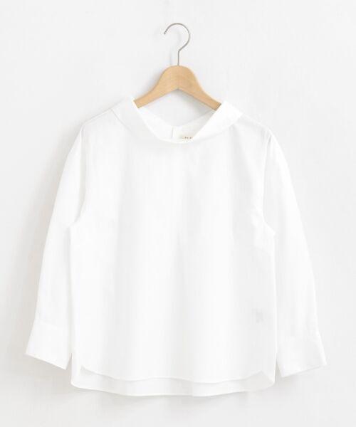 le.coeur blanc / ルクールブラン シャツ・ブラウス   ロールカラーブラウス   詳細21