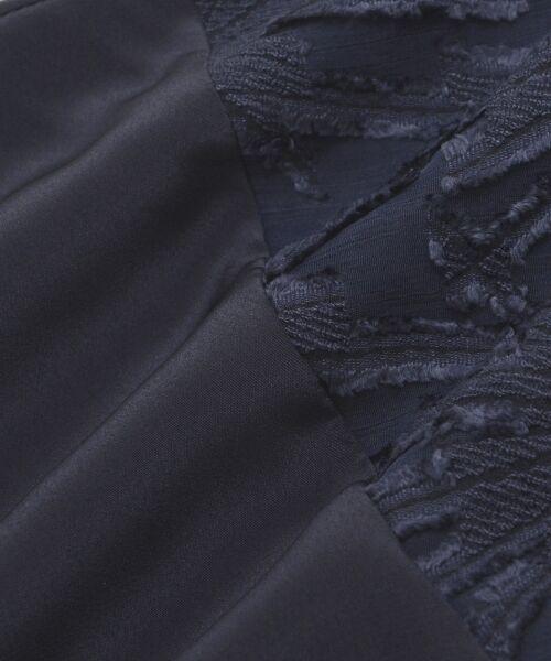 le.coeur blanc / ルクールブラン シャツ・ブラウス | 楊柳ジャガードスキッパーブラウス | 詳細4