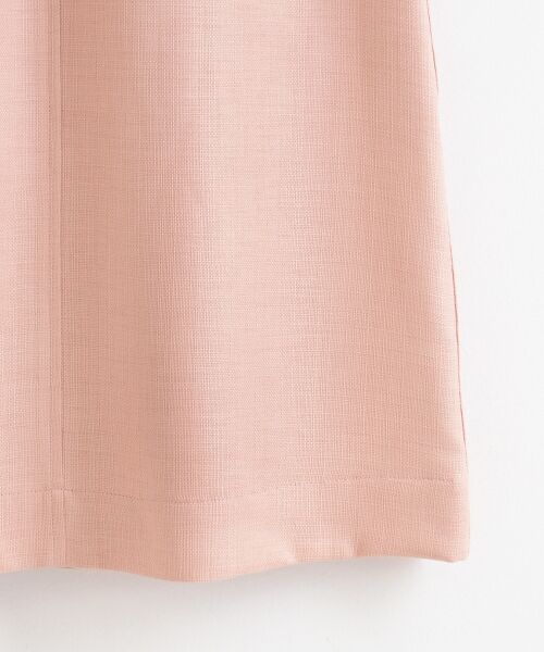 le.coeur blanc / ルクールブラン ロング・マキシ丈スカート | ウエストリボンAラインスカート | 詳細4