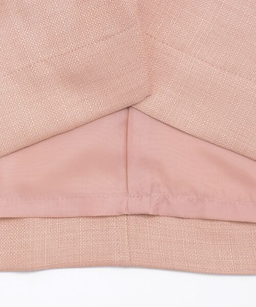 le.coeur blanc / ルクールブラン ロング・マキシ丈スカート | ウエストリボンAラインスカート | 詳細6