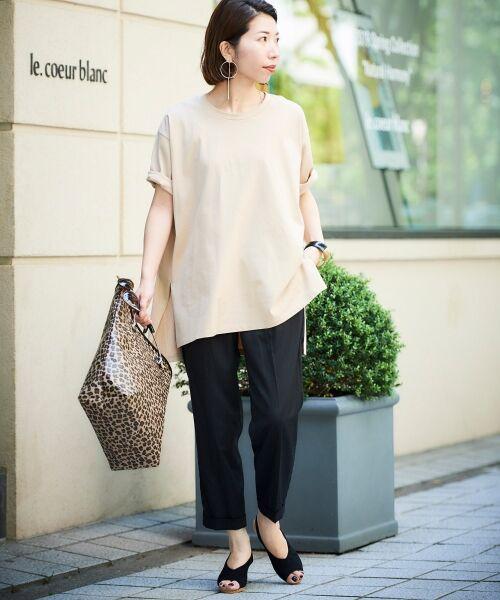 le.coeur blanc / ルクールブラン Tシャツ | BIG Tシャツ | 詳細14
