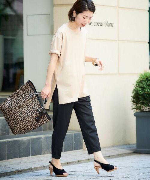 le.coeur blanc / ルクールブラン Tシャツ | BIG Tシャツ | 詳細15