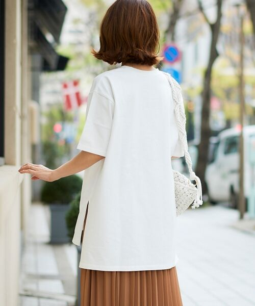 le.coeur blanc / ルクールブラン Tシャツ | BIG Tシャツ | 詳細5