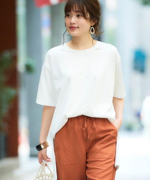 le.coeur blanc / ルクールブラン Tシャツ | BIG Tシャツ(オフ)