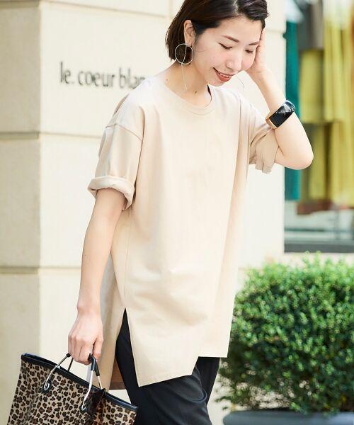le.coeur blanc / ルクールブラン Tシャツ | BIG Tシャツ(ベージュ)