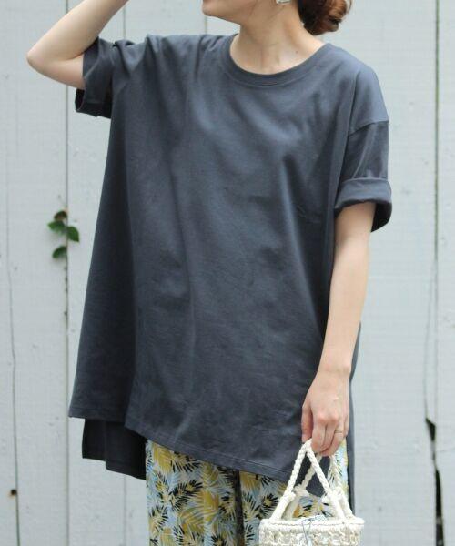 le.coeur blanc / ルクールブラン Tシャツ | BIG Tシャツ(D/グレー)