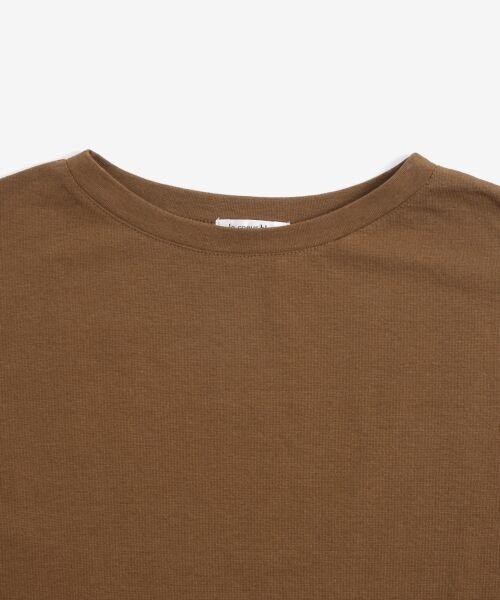 le.coeur blanc / ルクールブラン Tシャツ   サイドスリットロールアップスリーブTシャツ   詳細20