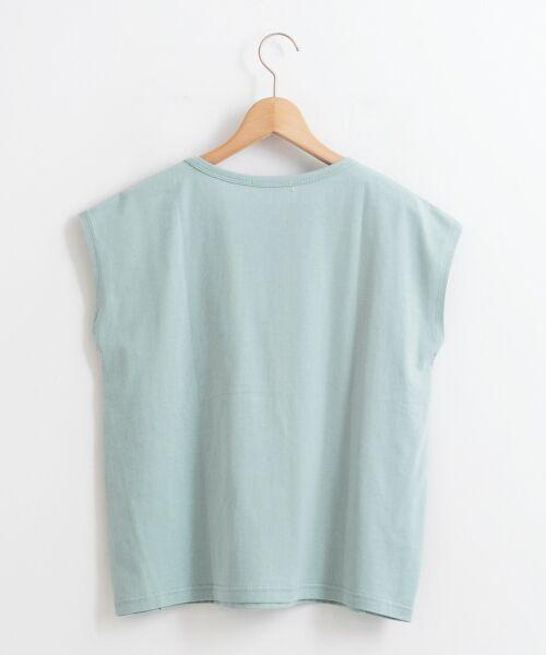 le.coeur blanc / ルクールブラン Tシャツ | ポケ付フレンチTシャツ | 詳細1
