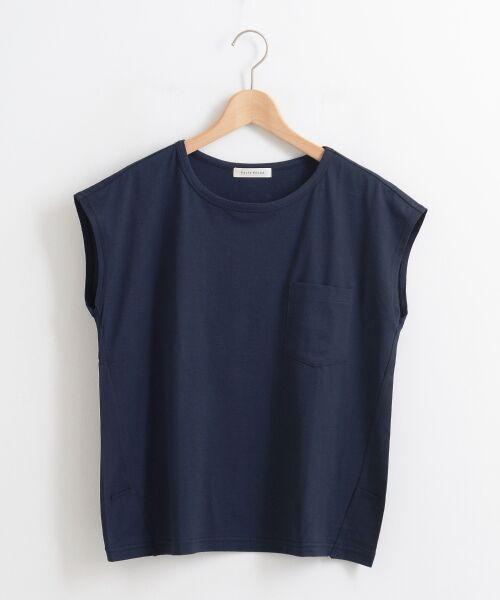 le.coeur blanc / ルクールブラン Tシャツ | ポケ付フレンチTシャツ | 詳細10