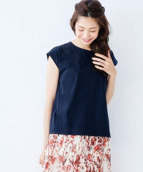 le.coeur blanc / ルクールブラン Tシャツ | ポケ付フレンチTシャツ | 詳細11