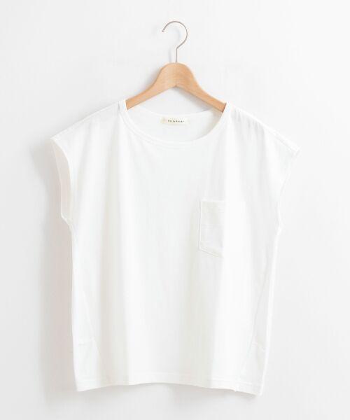 le.coeur blanc / ルクールブラン Tシャツ | ポケ付フレンチTシャツ | 詳細14