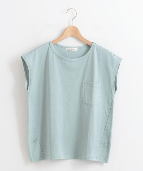 le.coeur blanc / ルクールブラン Tシャツ | ポケ付フレンチTシャツ | 詳細16