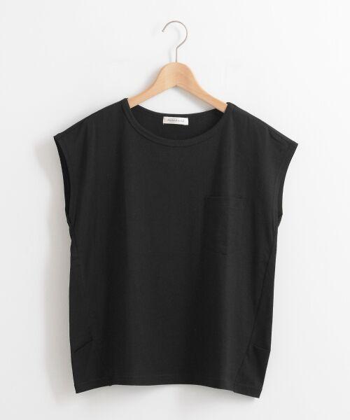 le.coeur blanc / ルクールブラン Tシャツ | ポケ付フレンチTシャツ | 詳細21