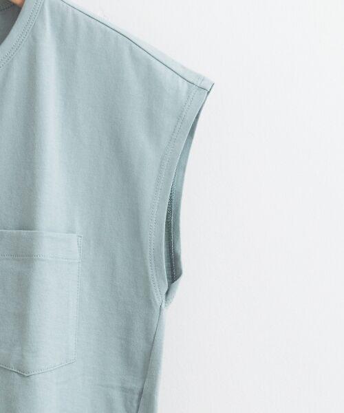 le.coeur blanc / ルクールブラン Tシャツ | ポケ付フレンチTシャツ | 詳細3