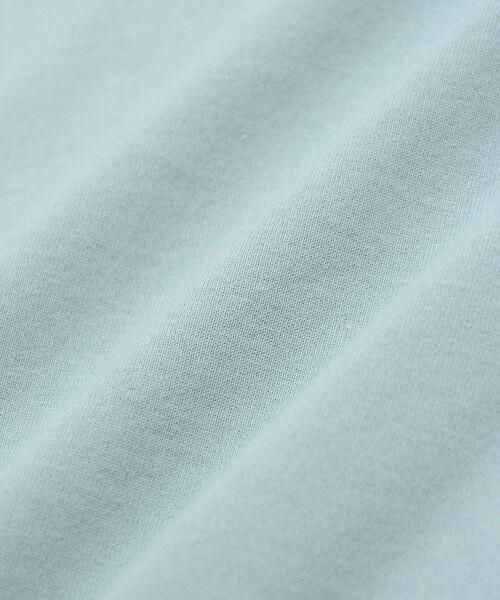 le.coeur blanc / ルクールブラン Tシャツ | ポケ付フレンチTシャツ | 詳細4