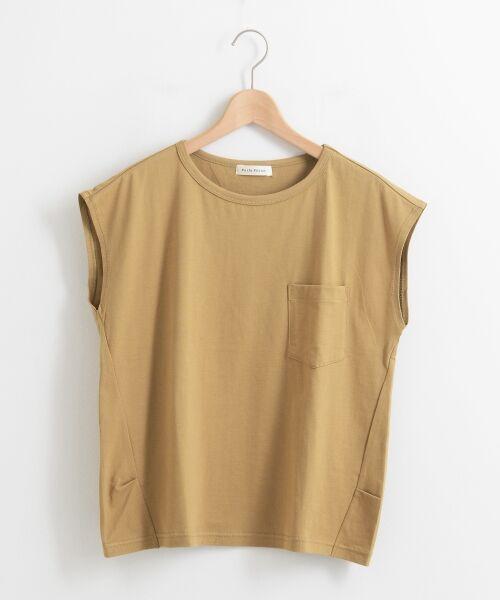 le.coeur blanc / ルクールブラン Tシャツ | ポケ付フレンチTシャツ | 詳細5