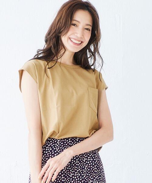 le.coeur blanc / ルクールブラン Tシャツ | ポケ付フレンチTシャツ | 詳細6