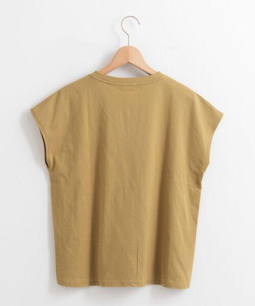 le.coeur blanc / ルクールブラン Tシャツ | VネックフレンチTシャツ | 詳細1