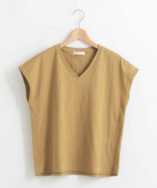 le.coeur blanc / ルクールブラン Tシャツ | VネックフレンチTシャツ | 詳細10