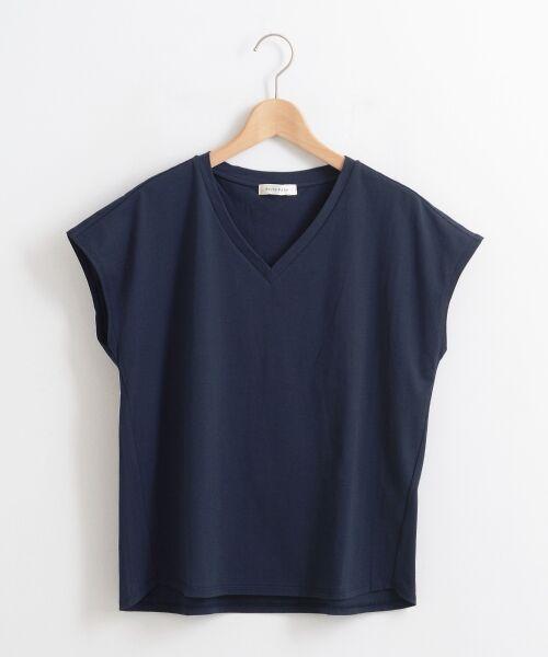 le.coeur blanc / ルクールブラン Tシャツ | VネックフレンチTシャツ | 詳細16