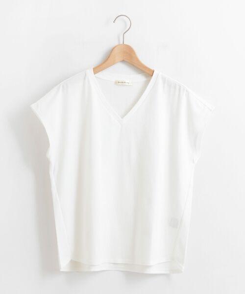 le.coeur blanc / ルクールブラン Tシャツ | VネックフレンチTシャツ | 詳細19