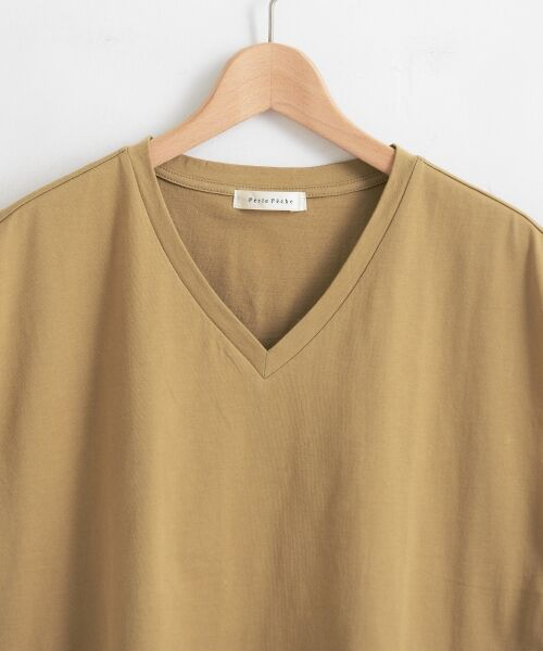 le.coeur blanc / ルクールブラン Tシャツ | VネックフレンチTシャツ | 詳細2