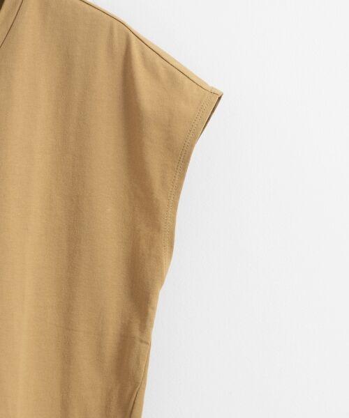 le.coeur blanc / ルクールブラン Tシャツ | VネックフレンチTシャツ | 詳細3