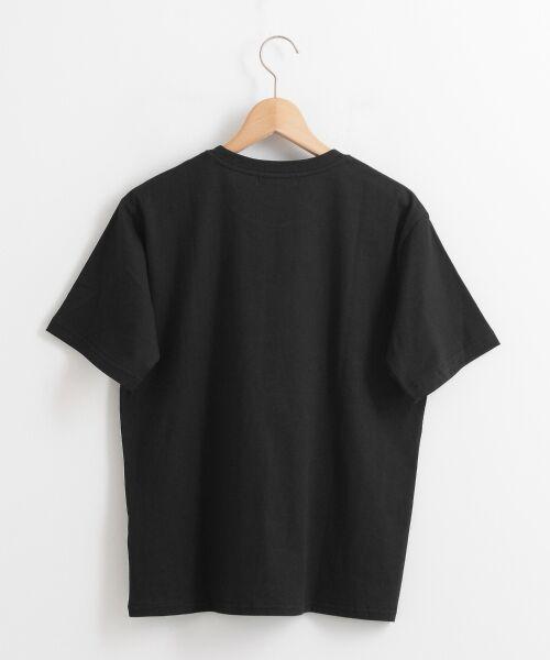 le.coeur blanc / ルクールブラン Tシャツ | ロゴプリントクルーTシャツ | 詳細1