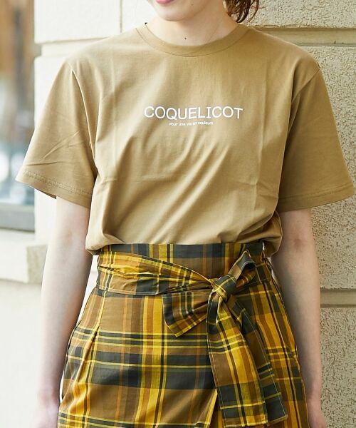 le.coeur blanc / ルクールブラン Tシャツ | ロゴプリントクルーTシャツ | 詳細10