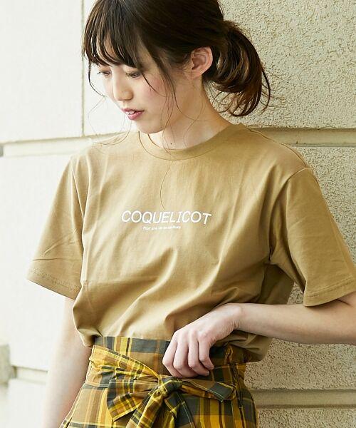 le.coeur blanc / ルクールブラン Tシャツ | ロゴプリントクルーTシャツ | 詳細11