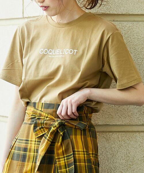 le.coeur blanc / ルクールブラン Tシャツ | ロゴプリントクルーTシャツ | 詳細12