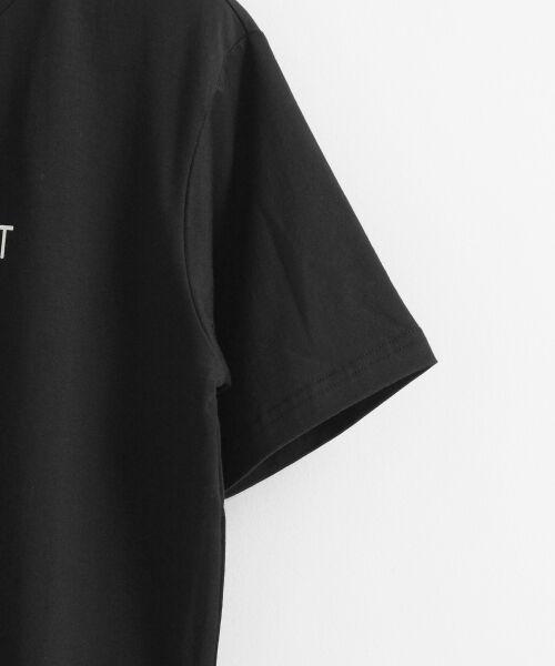 le.coeur blanc / ルクールブラン Tシャツ | ロゴプリントクルーTシャツ | 詳細3