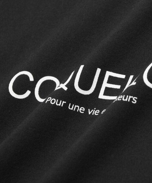 le.coeur blanc / ルクールブラン Tシャツ | ロゴプリントクルーTシャツ | 詳細4