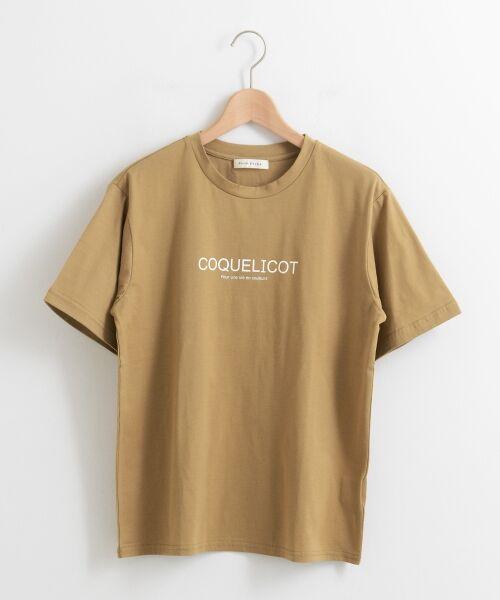 le.coeur blanc / ルクールブラン Tシャツ | ロゴプリントクルーTシャツ | 詳細9