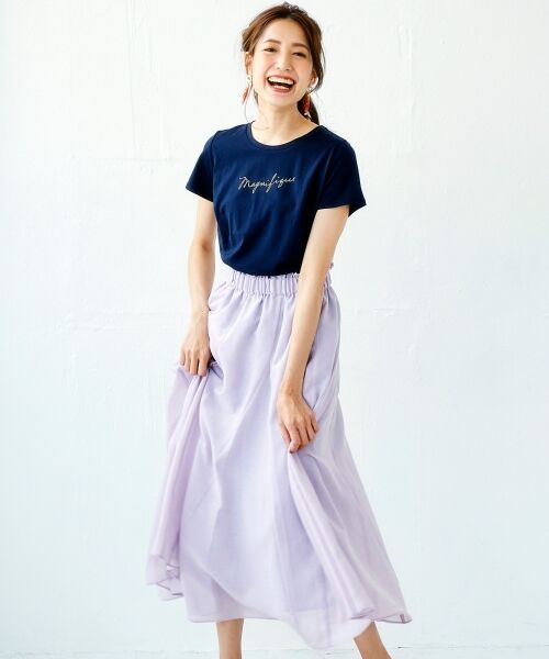 le.coeur blanc / ルクールブラン Tシャツ | ロゴプリントTシャツ | 詳細11