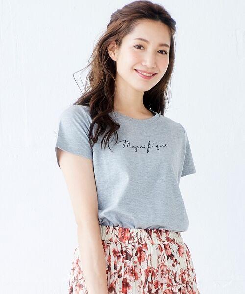 le.coeur blanc / ルクールブラン Tシャツ | ロゴプリントTシャツ | 詳細13