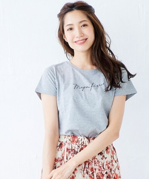 le.coeur blanc / ルクールブラン Tシャツ | ロゴプリントTシャツ | 詳細14
