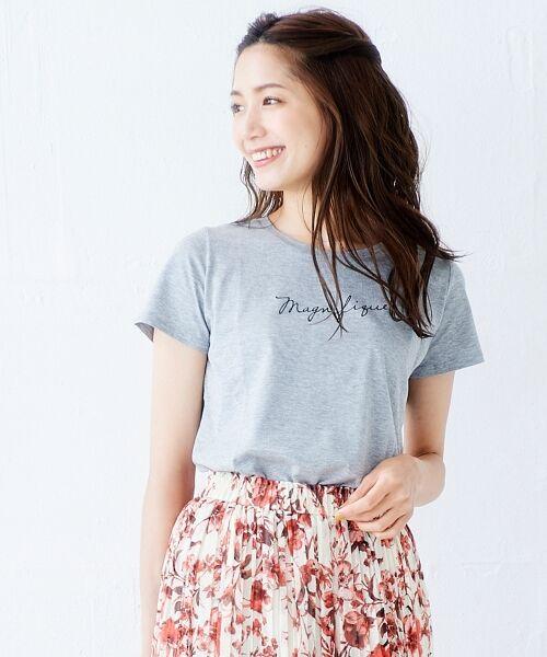 le.coeur blanc / ルクールブラン Tシャツ | ロゴプリントTシャツ | 詳細15