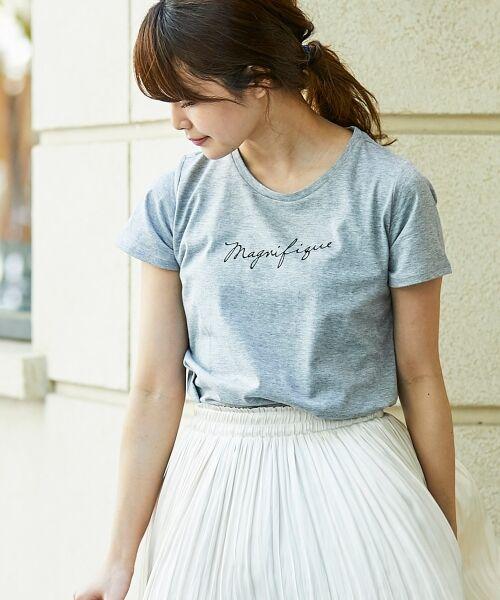 le.coeur blanc / ルクールブラン Tシャツ | ロゴプリントTシャツ | 詳細16