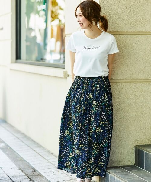 le.coeur blanc / ルクールブラン Tシャツ | ロゴプリントTシャツ | 詳細19