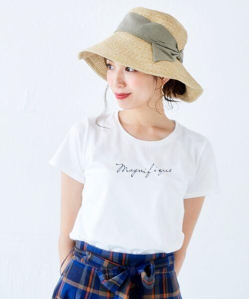 le.coeur blanc / ルクールブラン Tシャツ | ロゴプリントTシャツ | 詳細6