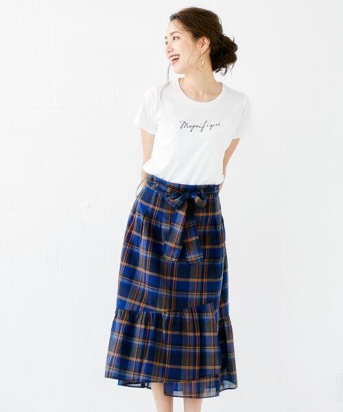 le.coeur blanc / ルクールブラン Tシャツ | ロゴプリントTシャツ | 詳細7